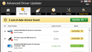 Advanced Driver updater 2020 license key