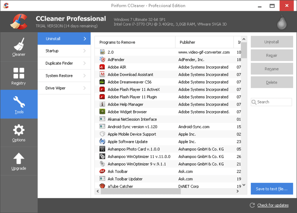 CCleaner Professional Key 5.78.8558 With Crack [ Latest 2021]